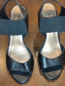 Black Moda Reflex Heels
